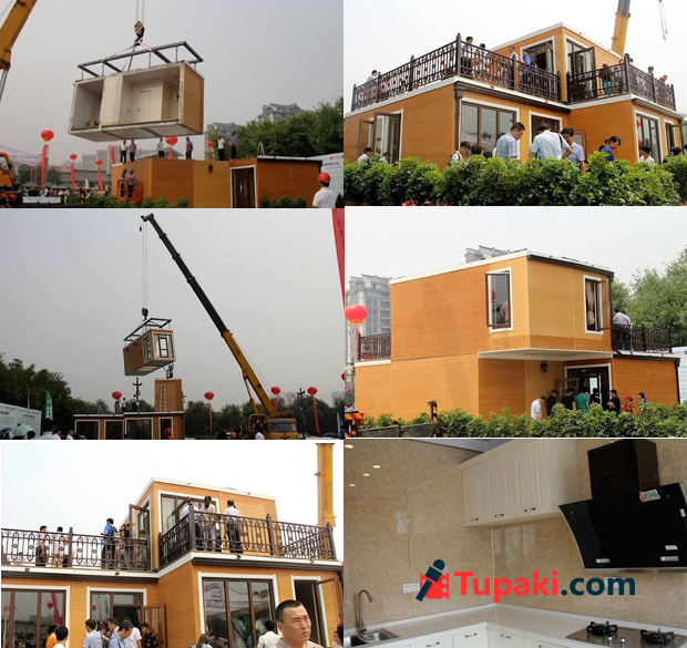 3D-printed villa in Xian assembled within 3 hours