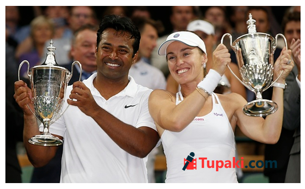 Leander Paes, Martina Hingis win mixed doubles title