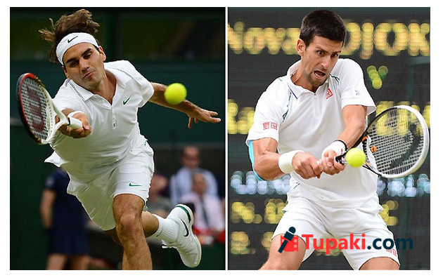 Roger Federer play Novak Djokovic in the Wimbledon men final