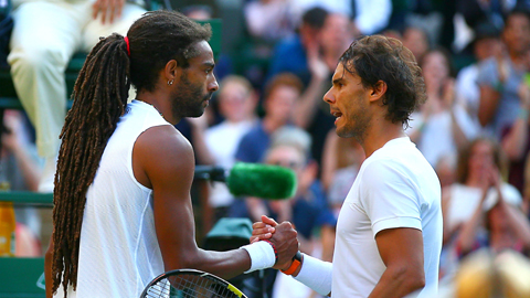 Rafael Nadal crashes out of Wimbledon after bravura Dustin