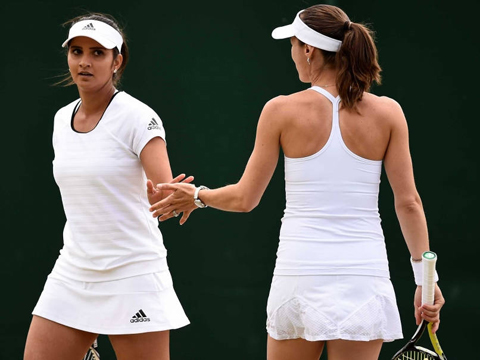 Sania Mirza-Martina Hingis Storm Into Wimbledon Final
