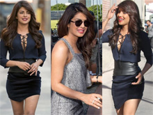 Priyanka Chopra in  Quantico Promotions Photos (PHOTOS)