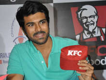 Ram Charan at KFC Employees Blood Donation Event Photos (PHOTOS)
