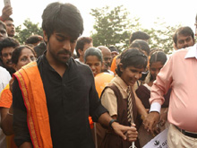 Ram Charan at World Sight Day Walk Photos (PHOTOS)