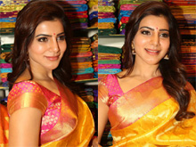 Samantha Launches South India Shopping Mall Photos (PHOTOS)