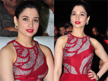 Tamanna At Bengal Tiger Platinum Disc Function Photos