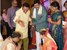 Director Vasu Daughter Deepthi Weds Bharath Wedding Photos