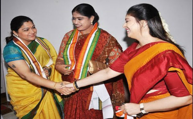 Nagma, Khushboo fight it out for Mylapore