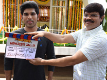 Allu Sirish New Movie Launch Photos