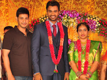Mahesh babu at Shiva Wedding REception Photos