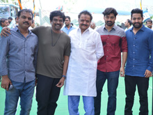 Nandamuri Kalyan Ram and Puri Jagan Film Launch Photos