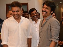 Pawan Kalyan and SJ Surya Movie Launch Photos