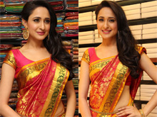 Pragya Jaiswal Launches Mangalam Showroom Photos