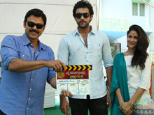 Varun Tej and Srinu Vytla Movie Launch Photos