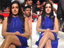 Catherine at Sarrainodu Blockbuster Function Photos