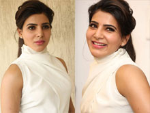 Samantha A Aa Movie Interview Photos