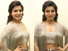 Samantha At A..Aa Movie Audio Launch Photos