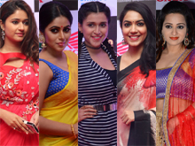 Heroines at Mirchi Music Awards Photos