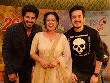 Akhil Promotes 100 Days of Love Movie Photos