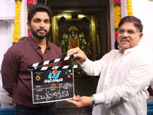 Allu Arjun DJ Movie Opening Photos