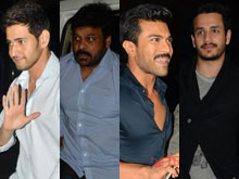 Celebs at Chiranjeevi Birthday Party Photos - 1