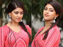Anu Emmanuel at Majnu Success Meet Photos
