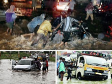 Heavy Rains Damage Hyderabad City Photos
