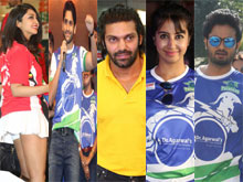 Celebs Badminton League Inauguration Photos