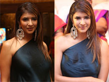 Manchu Lakshmi At Naruda Donaruda Audio Launch Photos