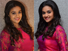 Keerthi Suresh at Remo Success Meet Photos
