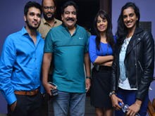 PV Sindhu Watches Ekkadiki Potavu Chinnavada Movie Photos