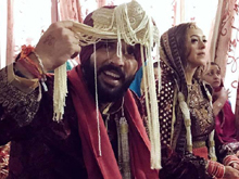 Yuvraj Singh and Hazel Keech wedding Photos