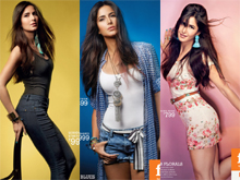 Katrina Kaif Photo Shoot for FBB Photos