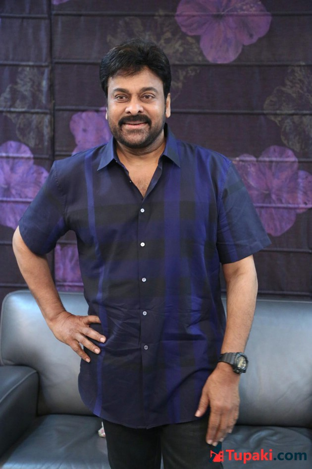 Chiranjeevi Khaidi No 150 Interview Photos