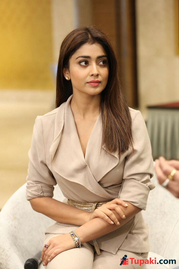 Shriya at GSPK Interview Photos