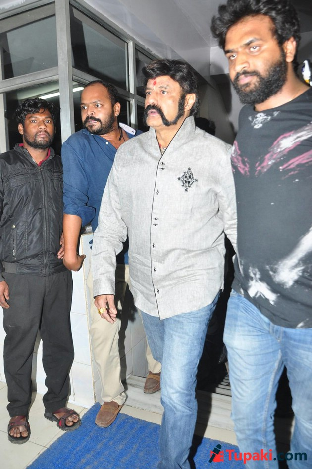Gautamiputra Satakarni Theater Covarage Photos