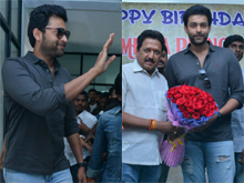 Varun Tej Birthday Celebrations Photos
