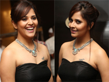 Anasuya At Winner Pre Release Function Photos