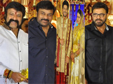 Music Director Koti Son Rajeev Wedding Reception Photos - 1