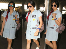 Adah Sharma Spotted At Airport Photos