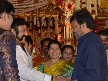 Music Director Koti Son Rajeev Wedding Reception Photos