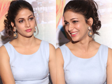 Lavanya Tripathi at Mister Trailer Launch photos