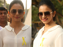 Rakul Preet Singh at Apollo Hospitals EndoMarch Event photos