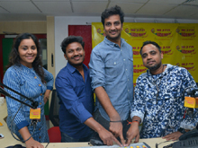 Babu Baaga Busy Movie Song Launch at Radio Mirchi Photos