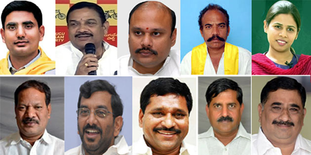 New Cabinet Ministers of Andhra Pradesh