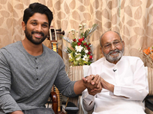 Allu Arjun Meets K Viswanath Photos