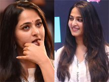 Anushka at Baahubali Press Meet Photos