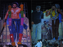Baahubali 2 Theater Coverage at RTC X Roads Photos