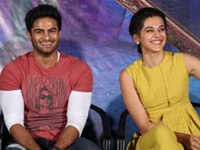Anando Brahma Motion Poster Launch Photos