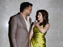 Celebs at Zaheer Khan Engagement Photos